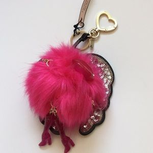 VS Limited Edition Angel Wing Pom Keychain